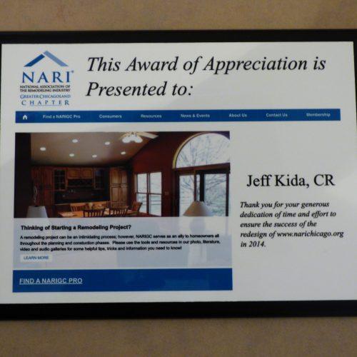 NARI Web Site Award