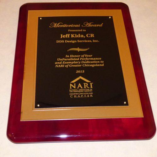 NARIGC Merritorious Award 2013