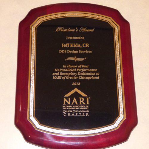 NARIGC Presidents Award 2012